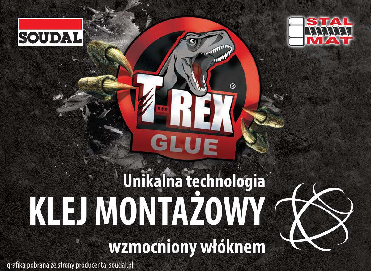 Klej montażowy T-REX